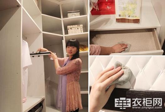 艾德格尔衣柜教您正确高效的清洁衣柜