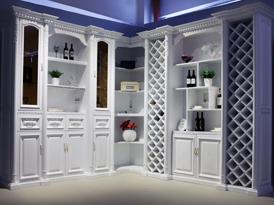 艾依格定制系列-圣保罗系列酒柜效果图