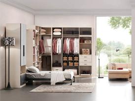 艾德格尔定制系列-清新温暖衣柜效果图