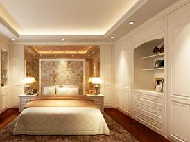 联邦高登定制系列-拉斐尔系列卧室衣柜效果图