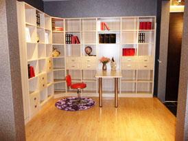 欧美斯定制系列-书房整体