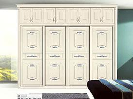 澳辉科洛尼定制系列-现代风格精美衣柜移门效果图