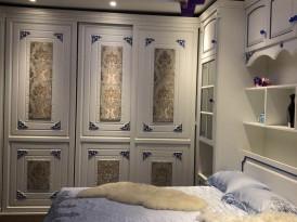 梵帝尼定制系列-浪漫法式卧室效果图 (4)