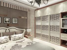 合生雅居定制系列-维多利亚欧式卧室效果图