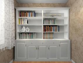瑞丽宜家定制系列-书柜效果图