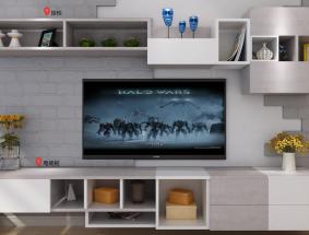 伊凡定制系列-电视柜效果图 (1)