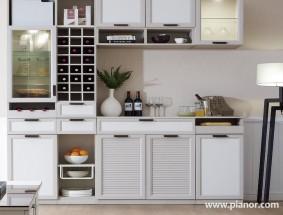 皮阿诺定制系列-餐柜效果图
