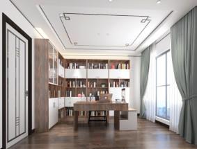 丽博定制系列-书柜效果图