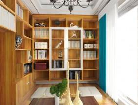 瑞丽宜家定制系列-法式书房系列效果图