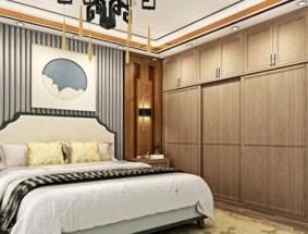 雪宝定制系列-新中式卧室