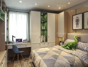 易高定制系列-现代系列卧室效果图