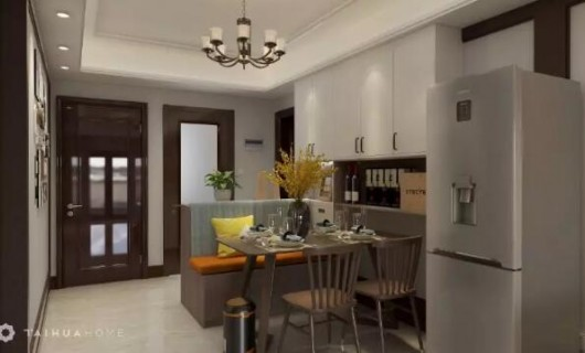 苔花全屋定制:89m²三卧室 还能拥有独立餐厅 卡座设计太巧妙了