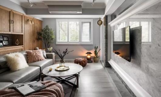 帝安姆全屋定制:灰调美式轻奢风 世上竟有如此精致的家