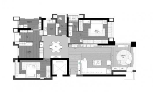 帝安姆全屋定制:案例分享 160㎡绿野秘境 打造一个柔和安定的家
