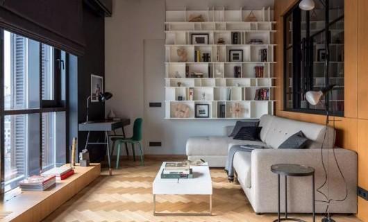 帝安姆全屋定制:案例分享 52㎡工业特色小公寓 酷到没朋友