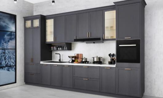 柏厨集成家居:不挑户型的厨柜设计 小厨房也能装出高级感
