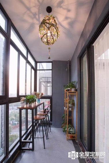 佰怡家设计讲堂:阳台不要只用来晾衣服,利用1㎡ ,打造阳台变身秀。496