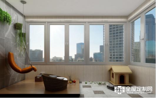 佰怡家设计讲堂:阳台不要只用来晾衣服,利用1㎡ ,打造阳台变身秀。744