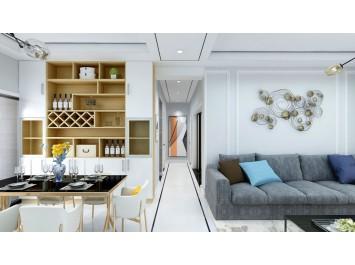 120㎡北欧风范,定制优雅舒适的家居环境