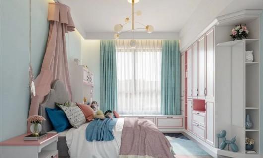 奢匠全屋定制:儿童房这样设计 隔壁家小孩都羡慕