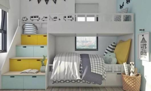 一个懂生活的家 儿童房装修的这些细节不能忽略