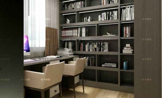 法卡家居:完美书房设计 办公学习都能搞定