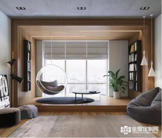佰怡家设计讲堂:客厅没阳台,这样设计更好看!408