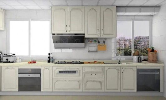 尚品宅配:厨房照着这样装 面积再小也能羡慕死邻居