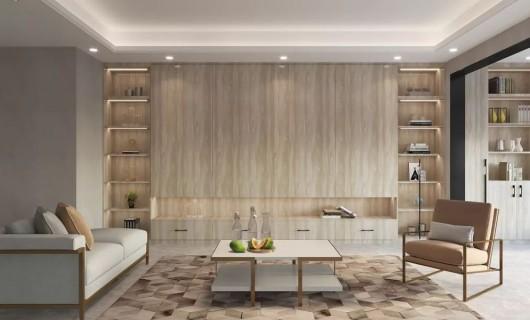 顶固全屋定制:别墅设计 极致简约的 才更高级