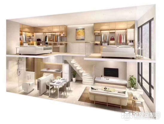 法卡家居:格调小窝典范,看看复式公寓怎么装修130