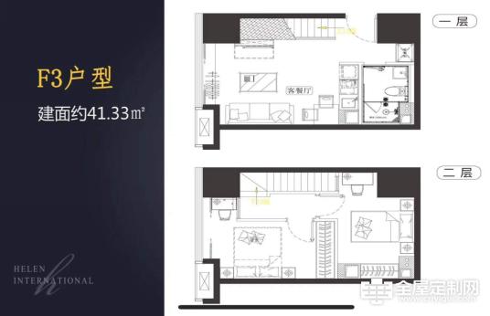 法卡家居:格调小窝典范,看看复式公寓怎么装修786