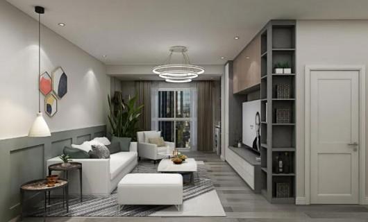 伊恋家居:案例 122m²婚房 四色描绘出现代轻奢之家 极致体验生活惬意