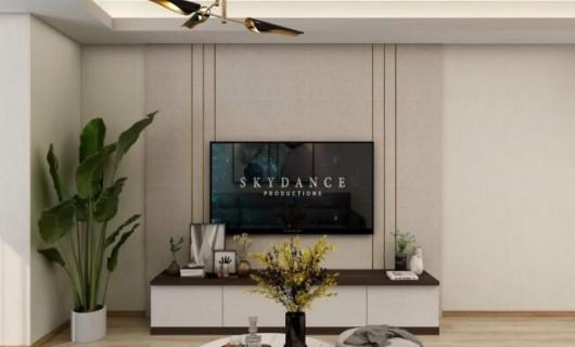 苔花家居:96m²现代简约 用心打造空间 舒适从容生活