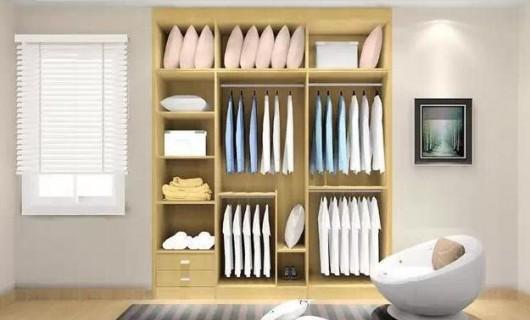 雪宝全屋定制:衣柜设计方案全解析 让空间更加完美