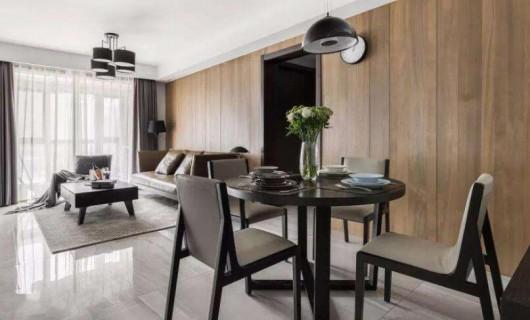 高颜值的客餐厅一体设计——明亮 宽敞 实用