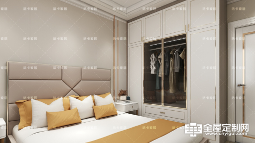 法卡家居:江西客户三室两厅雅居效果展示676