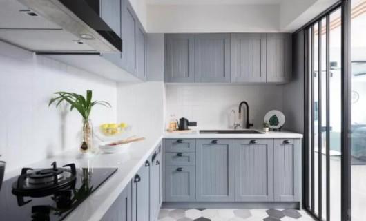 苔花家居:厨房篇 合理的布局规划与细节