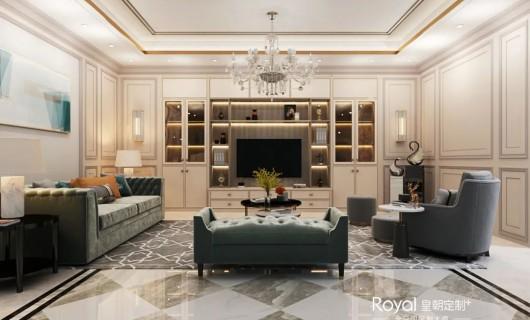 皇朝定制+:蒂芙尼 高级家奢华无需太过复杂