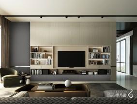 空与间高端定制旷野系列-电视机柜效果图