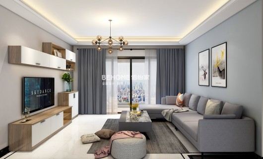 佰怡家装修小讲堂:不同颜色的沙发搭配不同的家居风格