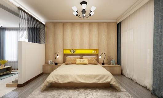 佰怡家设计小讲堂:卧室的隔断怎么做才好看