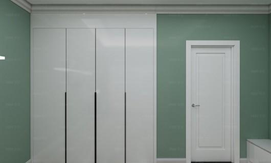 美佳:衣柜柜体找木工打 门板选择定制 这样搭配整体效果好吗