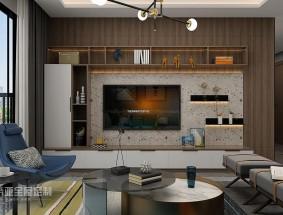 肯帝亚定制系列 - 摩登空间 - 客厅效果图