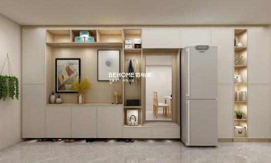 佰怡家设计案例:小公寓太逼仄 跟着她家装 造出明亮宽敞感