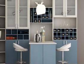 艾瑞卡定制系列-书房书柜装饰组合定制