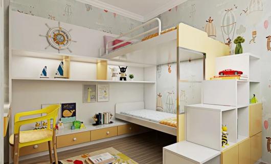 爱就爱全屋定制:用心打造 专属定制儿童房