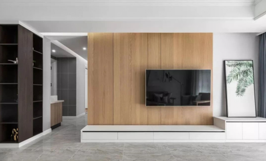KDDK全屋定制 电视柜的功能到底能有多强大