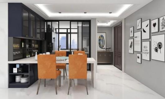 柏厨家居:案例 把星河装进140m²家 让生活多一点梦想