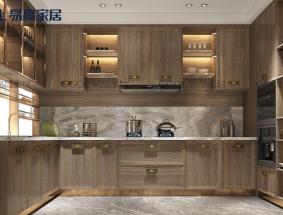 易高定制系列-新中式系列厨房效果图