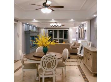张家界本地装饰公司中达装饰美式风格室内装修设计品质装修